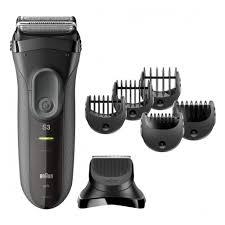 <b>Электробритва Braun 3000BT Series</b> 3 Shave & Style, черный ...