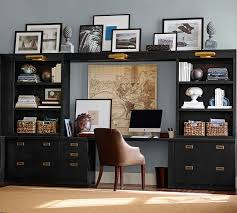 reynolds home office suite pottery barn barn office furniture