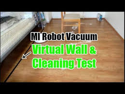 <b>Xiaomi Robot Vacuum</b> Virtual Wall and <b>Cleaning</b> Test (with a Chair ...
