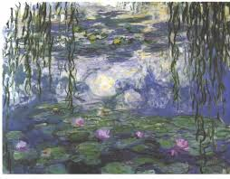 claude monet art history leaving cert waterlilies 1915