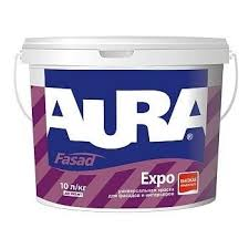 <b>Краска фасадная</b> матовая <b>Aura</b> Expo 9.0л - купить в Санкт ...