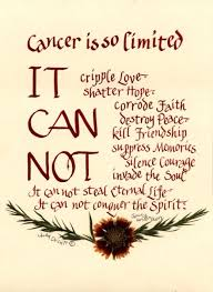 Quotes For People Who Survived Cancer. QuotesGram via Relatably.com