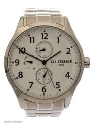 <b>Часы Ben Sherman WB004SM</b> 2095138 серебристый Мужской ...