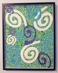 mosaic wall decor: custom made wall decor swirl mosaic matching boys room rug