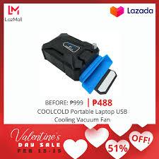 Cost U Less - <b>COOLCOLD Portable</b> Laptop USB Cooling <b>Vacuum</b> ...