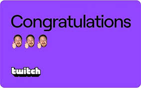Twitch Congratulations Gift Card- E-mail Delivery (US ... - Amazon.com
