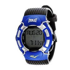 Shop Everlast HR1 <b>Finger</b> Touch Heart Rate Monitor Blue Bezel ...