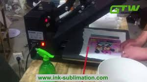 Sublimation <b>Printing</b> on 100% <b>Cotton Fabric</b> - YouTube