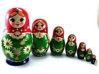 Nesting Dolls Inlay: лучшие изображения (8) | Doll painting ...