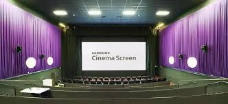 """سامسونج تطلق """"مسرح المستقبل"""" مع تكنولوجيا الشاشة السينمائية الجديدة"""