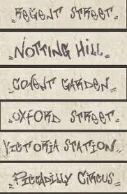 Декор <b>Serenissima</b> Underground <b>Ins</b>. Streets s/6 Notting Hill 8.6×35 ...