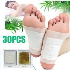 <b>30Pcs</b> Kinoki <b>Detox Foot</b> Pads Patch Detoxify Toxins Adhesive Help ...