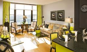 dazzling green living room color ideas with sofa and chairs completed with black table and wooden black green living room home