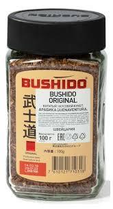 Купить <b>Кофе растворимый BUSHIDO</b> Original <b>сублимированный</b> ...