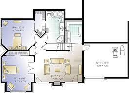 Basement entry garage house plans    plans Basement entry house designs