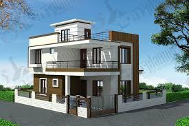 Home Design  Duplex House Plans Duplex Floor Plans Ghar Planner    Captivating Bungalow Front Design   Duplex House Plans Duplex Floor Plans Ghar Planner Bungalow Front View