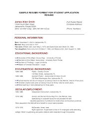 sample resume formats sample resume format ziptogreen com sample simple resume format sample of basic resume template template sample fresher resume template sample fresher resume