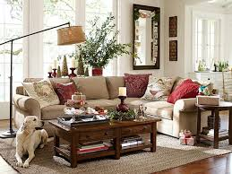 barn living room ideas decorate: love the idea of changing the pillow covers to reflect the season holidayroom