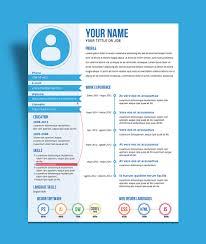 fresh creative resume cv template design ai file good resume fresh creative resume cv template design ai file
