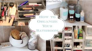 bathroom drawer organization: how to organize your bathroom a cabinets drawers shower caddy amp more youtube
