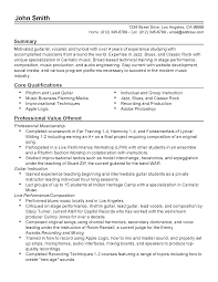 professional musician templates to showcase your talent resume templates musician