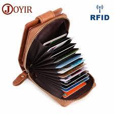 <b>JOYIR Genuine Leather</b> Holders Wallets With Coin Pocket Fashion ...
