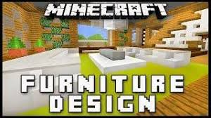 minecraft how to make furniture for a living room modern house build ep build living room furniture