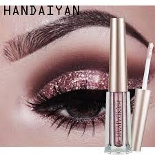 <b>HANDAIYAN 12 Color</b> Cream Glitter <b>Liquid</b> Sequin Eye Shadow ...