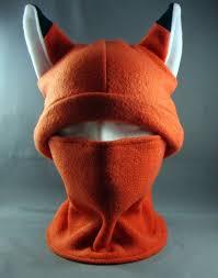 Fox Ninja Hat & Neckwarmer by ANIMATED APPARELS | Size ...