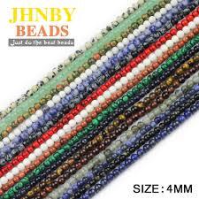 JHNBY AAA <b>Natural Stone</b> Opal <b>Beads</b> 4/6/8/10/12mm Round Milky ...