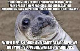 Awkward Moment Sealion Meme - Imgflip via Relatably.com