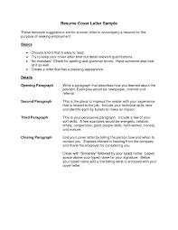 Resume Cover Letter Samples Key Skills On Resume Project