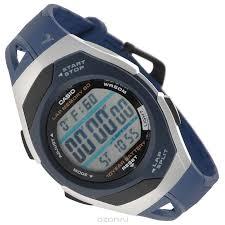 Наручные <b>часы Casio STR</b>-<b>300C</b>-<b>2</b> — купить в интернет ...