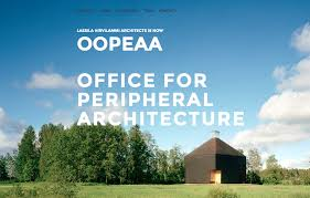lassila hirvilammi architects takes on a new name beginning in june 2014 the office will operate under the name of oopeaa office for peripheral architect office names