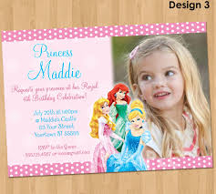 aurora invitation disney princess invitation disney princess party invitation personalized princesses birthday party invite disney princess printable ideas