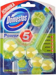 Гигиенический блок <b>для унитаза Domestos</b> Power 5 Свежесть ...