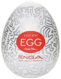 <b>Мастурбатор яйцо TENGA&Keith Haring</b> Egg Party от компании ...