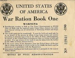 Image result for ww2 picture of ration book