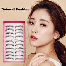 <b>20pcs</b>/<b>set</b> Handmade <b>Women</b> Natural Fashion False Eyelashes Soft ...