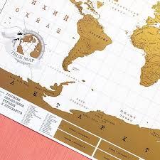 <b>Скретч карта</b> мира TrueMap купить в Самаре