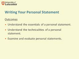 Writing your Personal Statement Dr Morag McIvor School and College     SlidePlayer