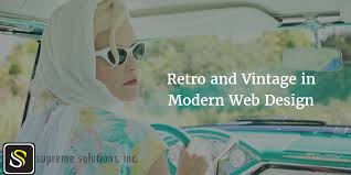 Throwback Showcase of <b>Retro</b> and <b>Vintage</b> Online Stores