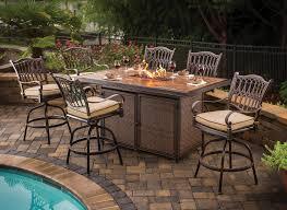 patio table and 6 chairs: patio table and chairs athena cast aluminum patio dining set