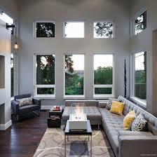 modern living room beautiful houses interior