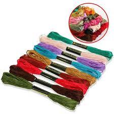 Online Shop <b>Looen Random Colors 100pcs</b> Cross Stitch Floss ...