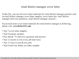 retail district manager cover letterretail district manager cover letter in this file  you can ref cover letter materials for