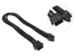 <b>Аксессуар Кабель Akasa</b> PCIe to ATX 12V 15cm длина кабеля ...