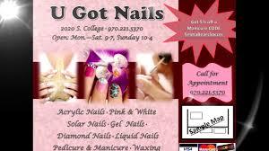 nail salon sample ad nail salon sample ad