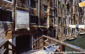 Risultati immagini per ghetto di venezia