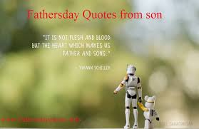 Fathers Day Quotes From Son - Fathers day Quotes